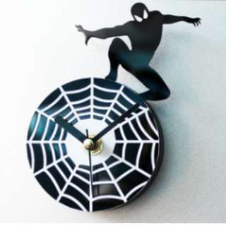 Fridge Clock - Spiderman