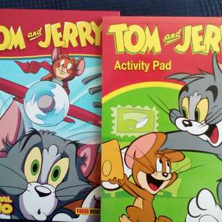 Tom and Jerry Annual 2010  Tom and Jerry Activity Pad