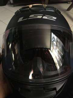 LS2 Rookie Helmet / Medium Size / Matte Black