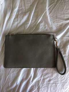 Colette Grey Pouch