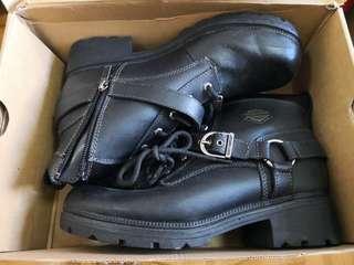 Harley Davidson boot 鐵騎 皮鞋