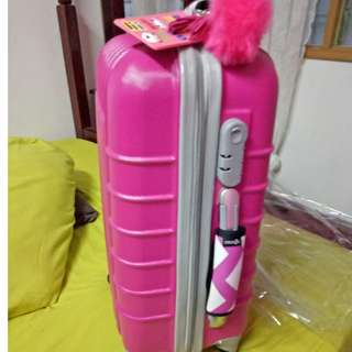 Cosmos Neoprene Handle Wraps/Grip for Travel Bag Luggage Suitcase (Hotpink)