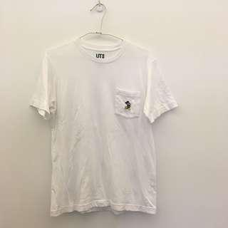 🚚 UNIQLO 口袋米奇短袖T恤