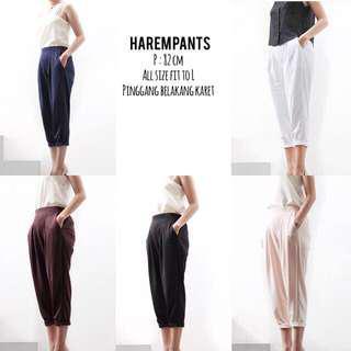 Harem pants celana navy