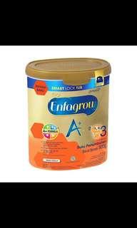 Enfagrow a3+ vanilla 800gram