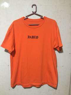 Pablo Orange Shirt Streetwear