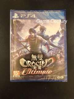 全新 PS4 無雙大蛇2 終極版中文