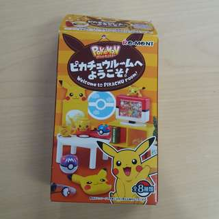 Re-Ment 比卡超房間系列 日本食玩 Welcome to Pikachu Room (8號款) pokemon