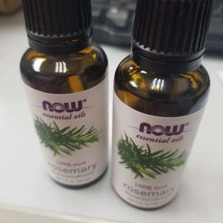 NOW rosemary essential oil 迷迭香精油