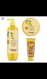 Marula oil body lotion & scrub for sale