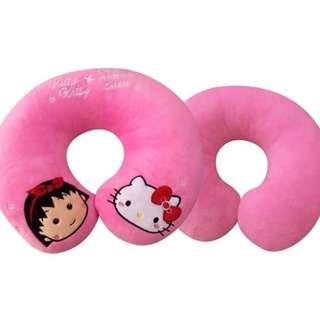 Kitty 小丸子 頸枕 U型枕 聯名 抱枕 全新 現貨 特價 優惠 可愛 療癒 正版 三麗鷗 sanrio 生日