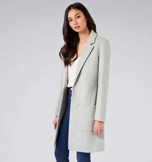 Forever new wool blend coat