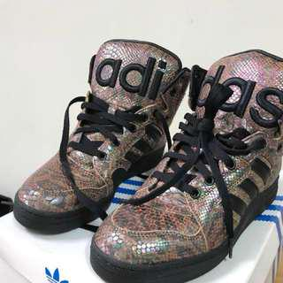 Adidas js instinct hi rainbow