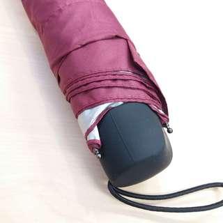 全新防uv縮骨遮一把 晴雨傘 摺傘 umbrella