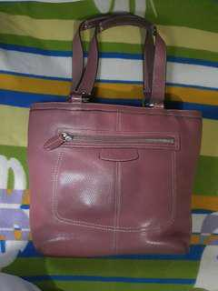 Coach leather bag