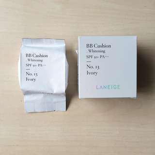 [BN] Laneige BB Cushion Whitening Refill - No13 Ivory