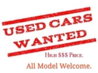 Car Wanted  $$$