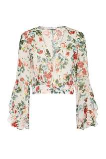 SHEIKE Rose Garden Blouse Sz 6