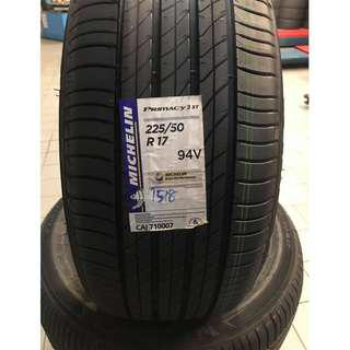 [Brand New] MICHELIN Tayar 225/50/17 with FREE gift