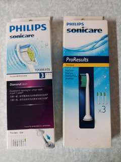 Philips Diamond牙刷頭 $210 另外ProResults$145三星手錶,$400 tplink$50電98084008