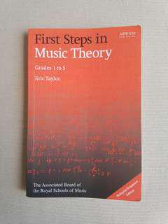 ABRSM First Steps in Music Theory Grade 1-5