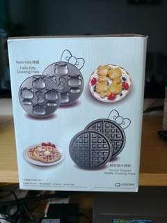 全新 Hello Kitty 粉紅趣趣鬆餅機