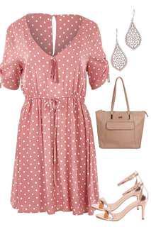 Luca Spot Dress BNWT