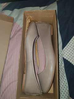 Grey siren shoes