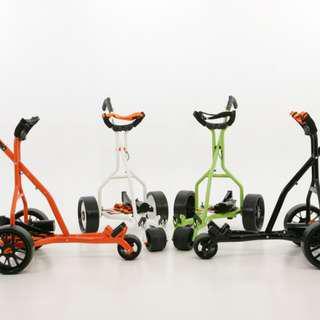 Revolution UK Made electric golf trolley