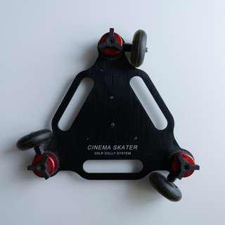 Cinema Skater Dolly System for DSLR / MIRRORLESS camera