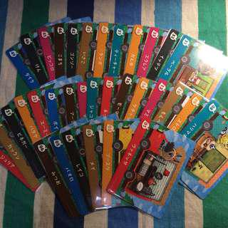 Animal Crossing New Leaf Welcome Amiibo RV Cards (Set of 34)