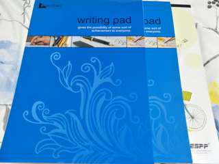 A4 WRITING PADS WITH FREE PENS AND NORMAL MAIL