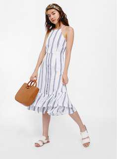 🚚 LB Vittoria Crossback Striped Dress