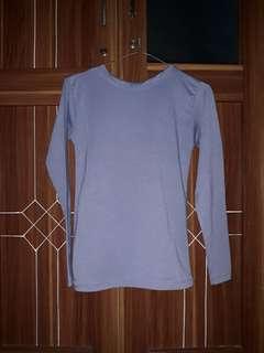 Baju manset biru