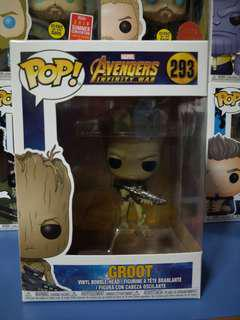 Marvel Funko Pop Groot Infinity war