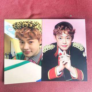 [wts] nct dream chenle my first and last postcard set