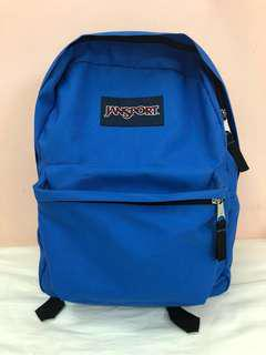 Blue jansport Bag