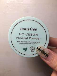 🚚 Innisfree 薄荷礦物控油蜜粉