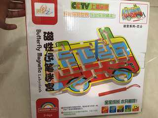 Educational Toy Magnetic Bus Game