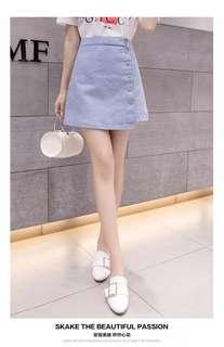 韓國新款靚料型格短褲裙褲