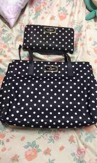 Kate spade bag & wallet set