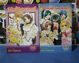 Maid-Sama! English 2 in 1 manga