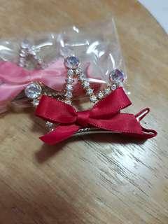 Tiara clip #crown #princess