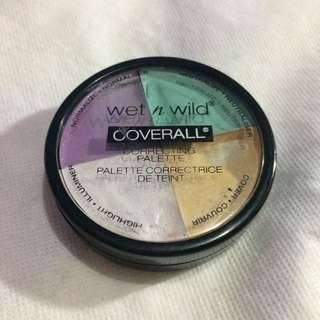 [REPRICE] Wet n Wild Coverall Correcting Palette