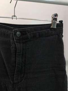 Topshop high waisted black jeans
