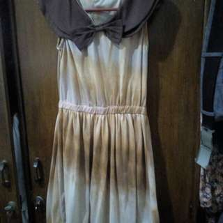 Dress cokelat
