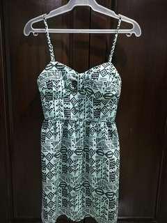 FOREVER XXI  mint mini dress