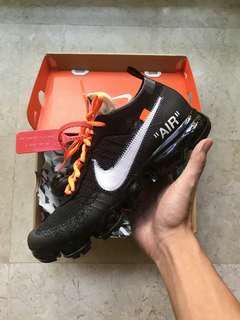US 9 Off White Nike Vapormax OG