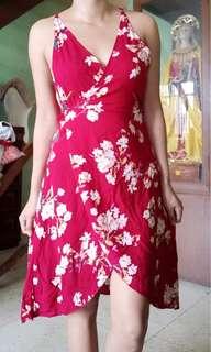 summer dress wrap around
