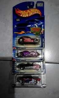 Hotwheels 4pieces #hotwheels #toys #cars
